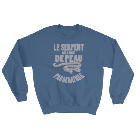 "Sweatshirt ""LE SERPENT CHANGE DE PEAU"""