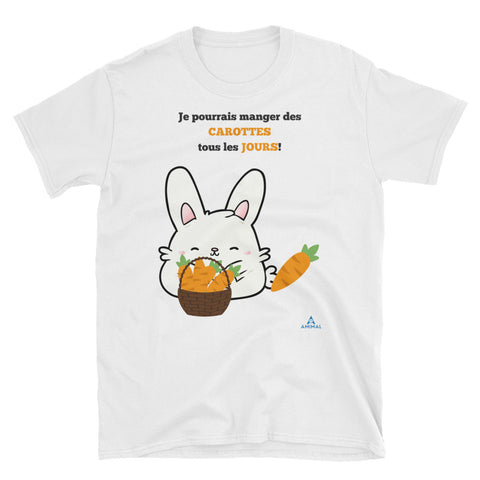 "T-Shirt ""FAN DE CAROTTES"""