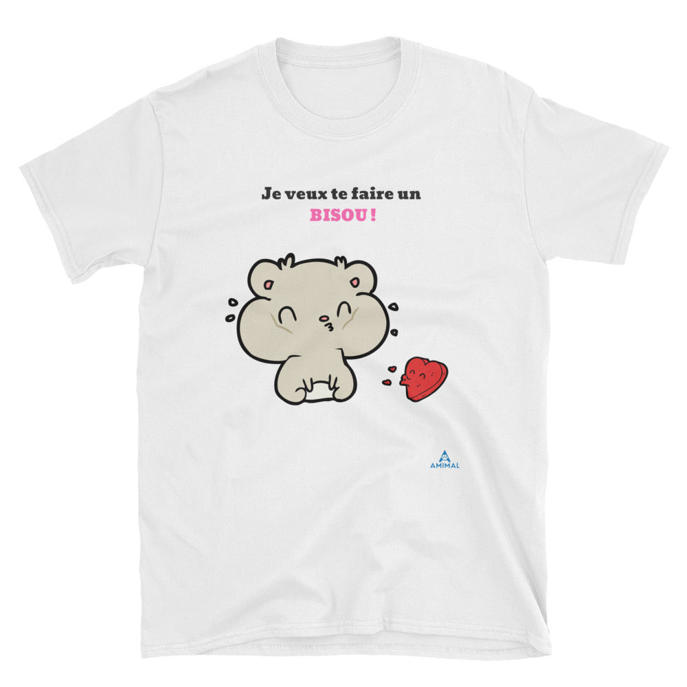 "T-Shirt ""UN BISOU!"""