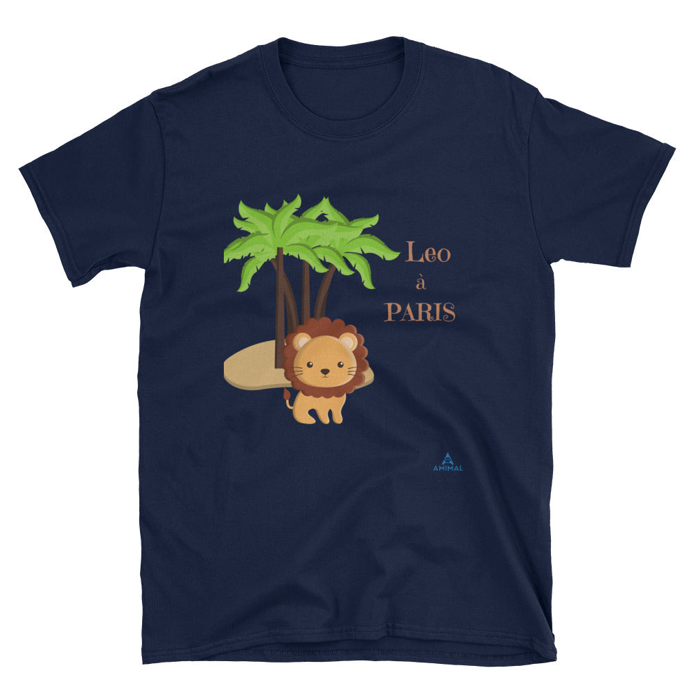 "T-Shirt ""LÉO A PARIS"""