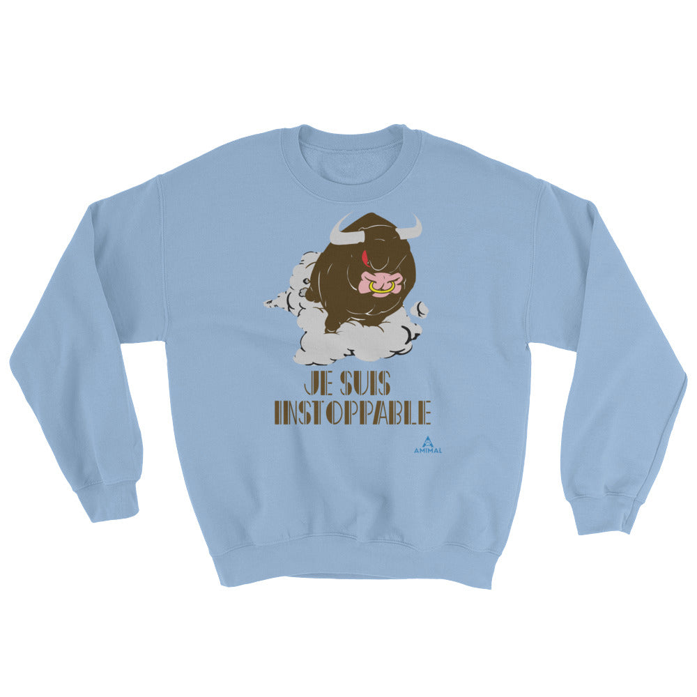 "Sweatshirt ""JE SUIS INSTOPPABLE"""