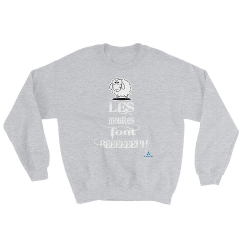 "Sweatshirt ""LES MOUTONS FONT BEEEH"""