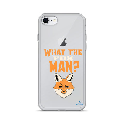 "Housse iPhone ""WHAT THE FOX MAN?"""