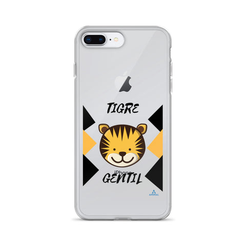 "Housse iPhone ""GENTIL TIGRE"""