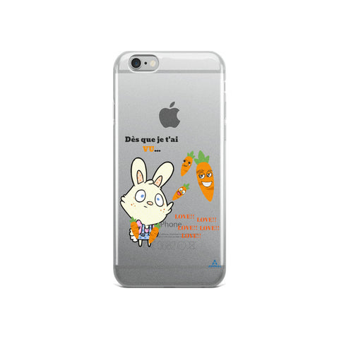 "Housse iPhone ""AMOUR FOU"""