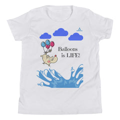 "T-Shirt Adolescent ""BALLONS IS LIFE"""