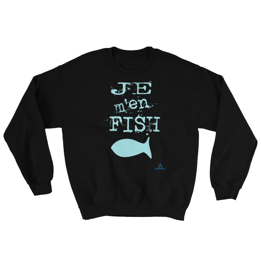 "Sweatshirt ""JE M'EN FISH"""