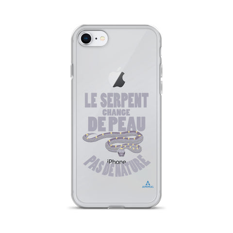 "Housse iPhone ""LE SERPENT CHANGE DE PEAU"""