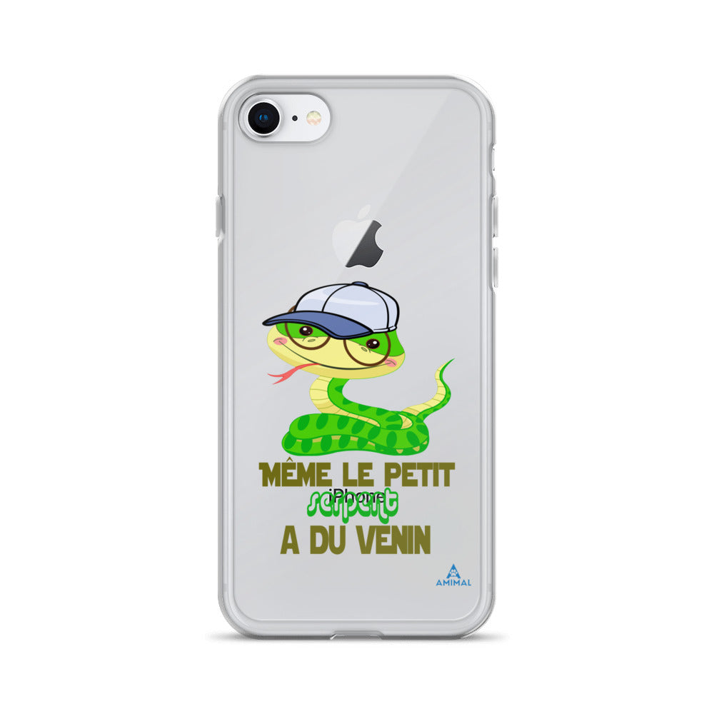"Housse iPhone ""LE PETIT SERPENT A DU VENIN"""