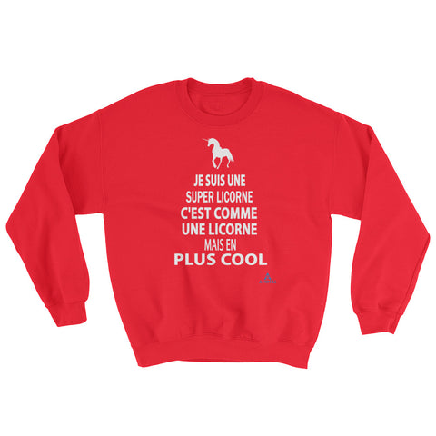 "Sweatshirt ""SUPER LICORNE"""