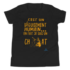 "T-Shirt Adolescent ""DÉGUISEMENT CHAT"""