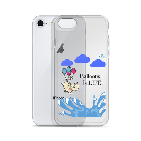 "Housse iPhone ""BALLOONS IS LIFE"""