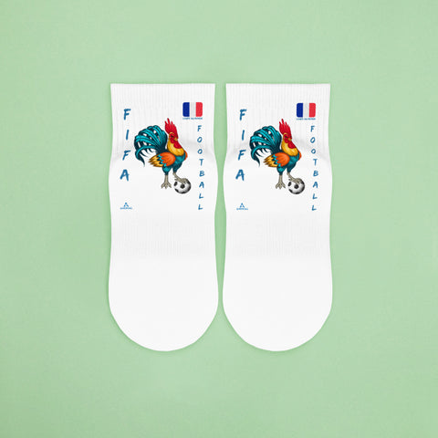 "Chaussettes ""COQ FOOTBALL"""