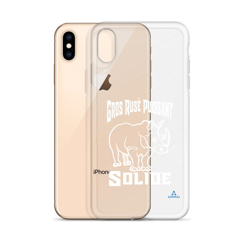"Housse iPhone ""RHINO SOLIDE"""