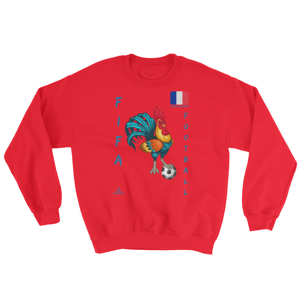 "Sweatshirt ""COQ FOOTBALL"""