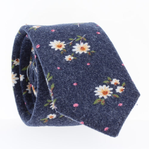 Wildflower, NECKTIES, skinny ties, floral ties, affordable, cotton ties, confidence- CORBATA