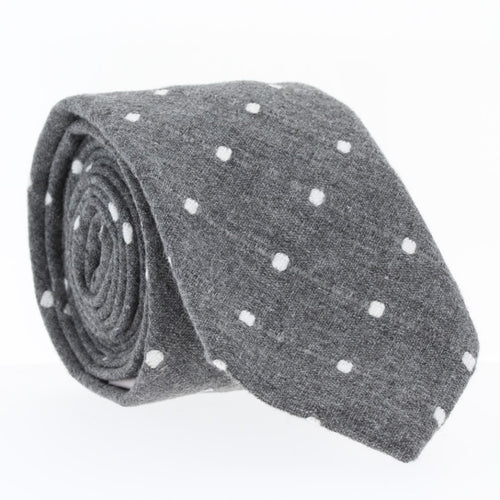 Slate, NECKTIES, skinny ties, floral ties, affordable, cotton ties, confidence- CORBATA