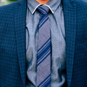 The Fog, NECKTIES, skinny ties, floral ties, affordable, cotton ties, confidence- CORBATA