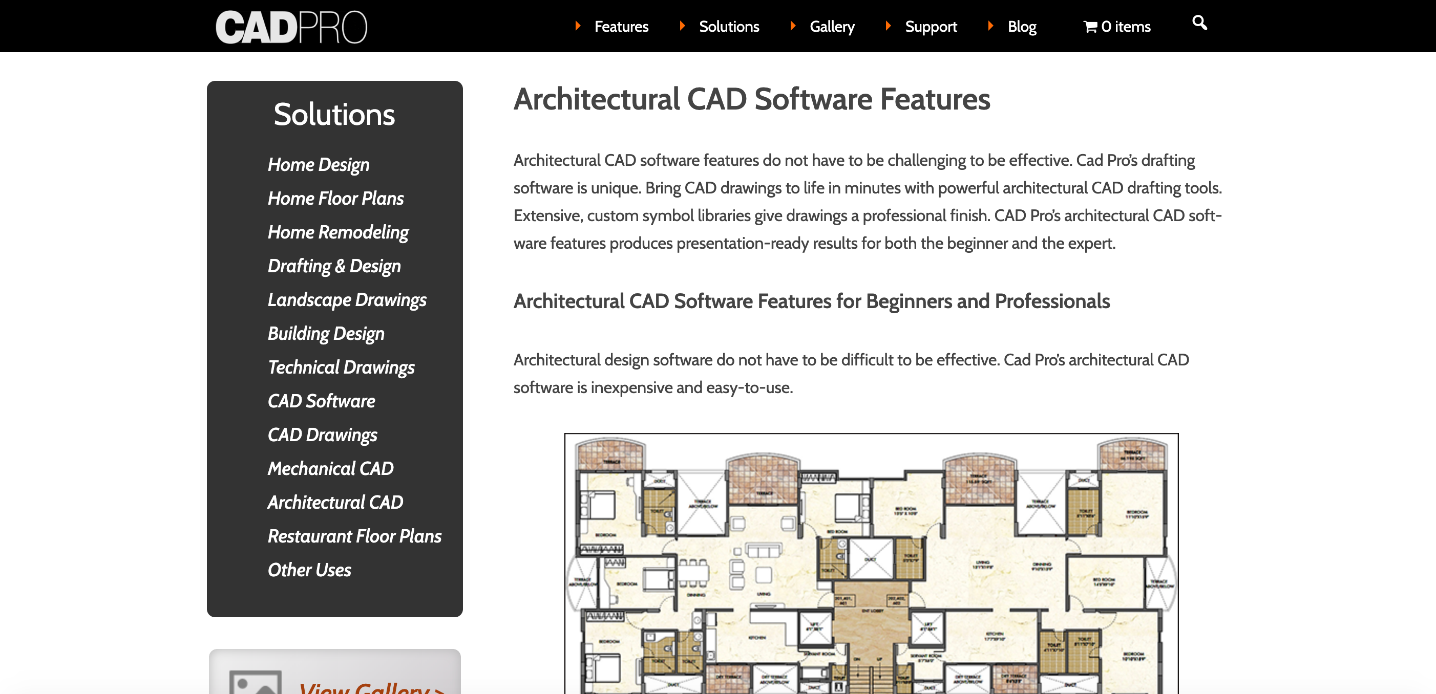 Best Architectural CAD software