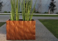 rippled planters | PureModern