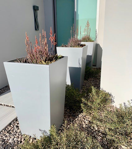 Tall tapered planters