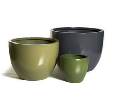Pure Pots from PureModern create a subtle welcoming atmosphere for any space.