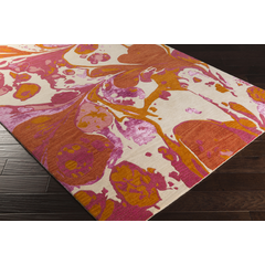 Banshee Orange Pink Rug