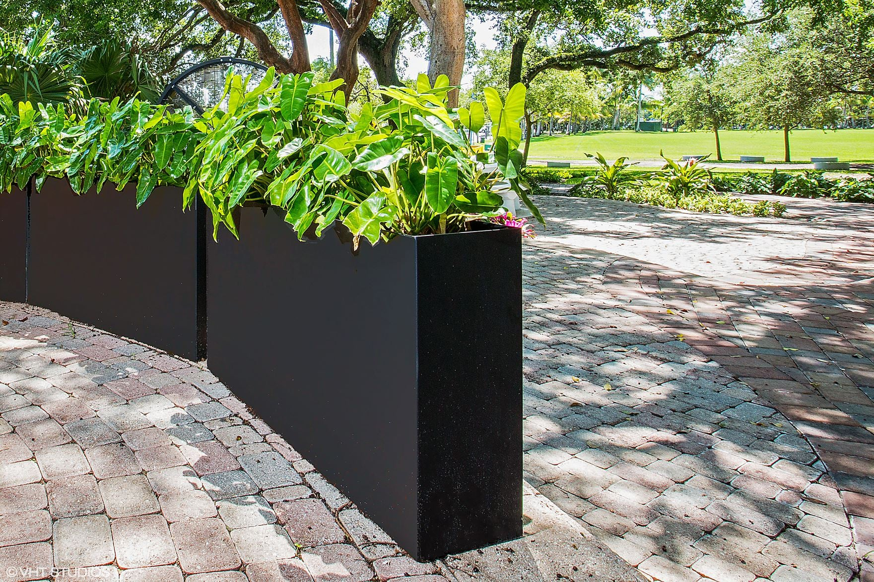 large rectangle planters