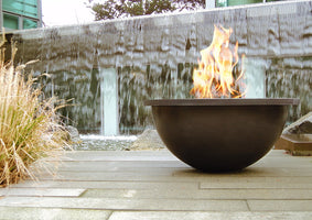 Modern Outdoor Fire Pits, Torches, Fire Bowls, & Fire Tables