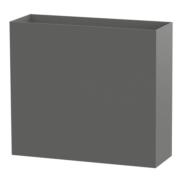 Modern Elite Divider Planter Pewter