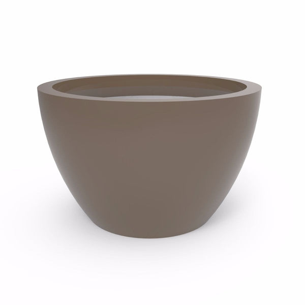 Tau Rotunda Tapered Round Planter - 3270