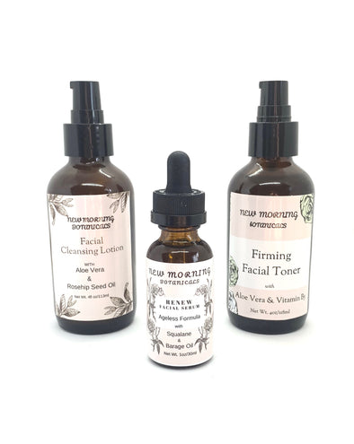 Facial Care Routine Bundle