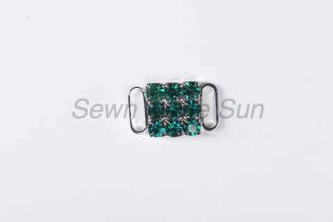 #587 Blue Zircon in Silver