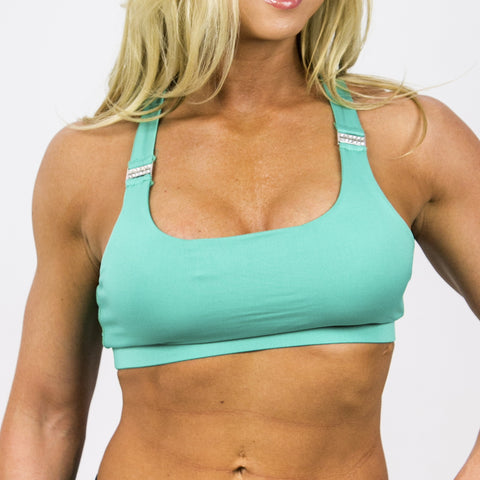 Sports Bra X-Back Mint