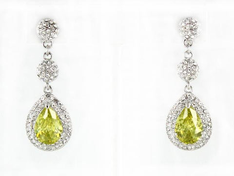 Jonquil & Crystal in Silver