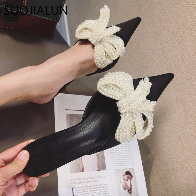 Leila Mules Shoes - SevenStarCollection