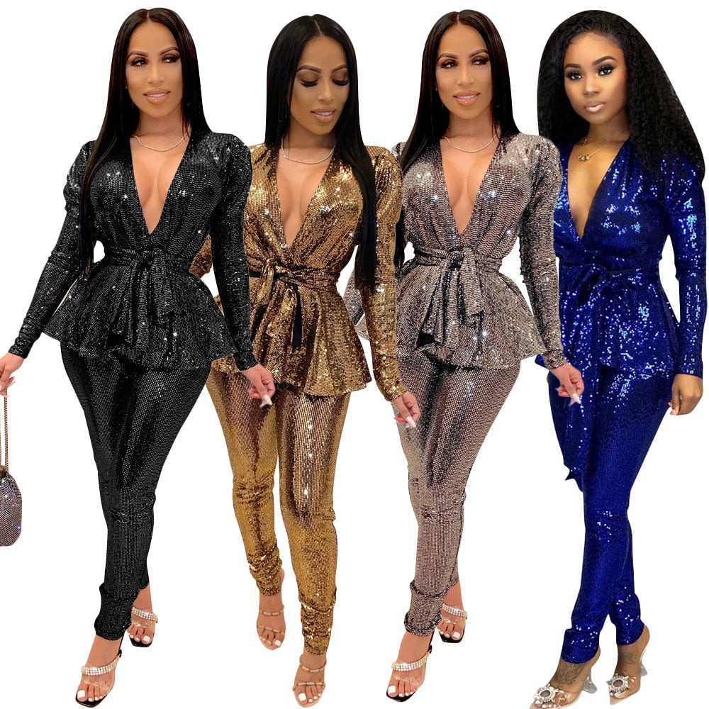 Karin 2 pieces Tracksuits Women Set