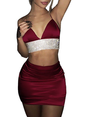 Jana 2 Piece Set Bodycon Skirt two piece set