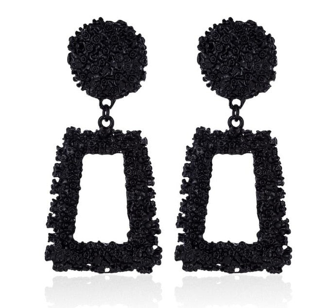 Luciana Big Earrings Statement