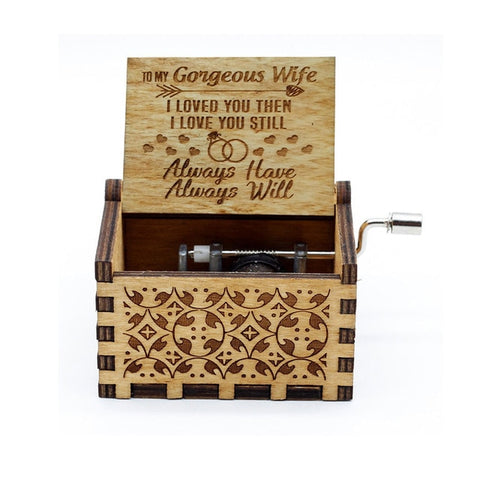 To My Special Someone - Engraved Music Box