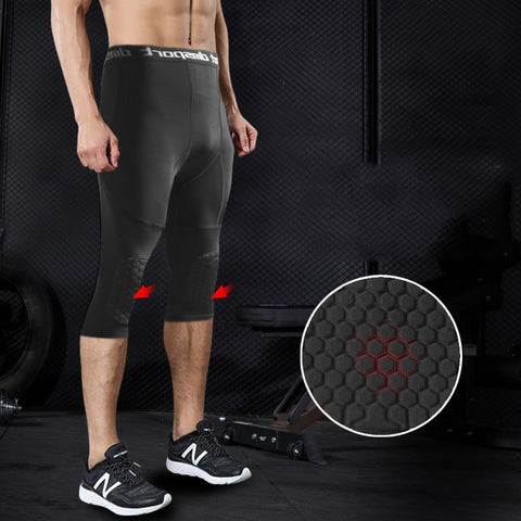 Image of Basketball Honeycomb Compression Pants