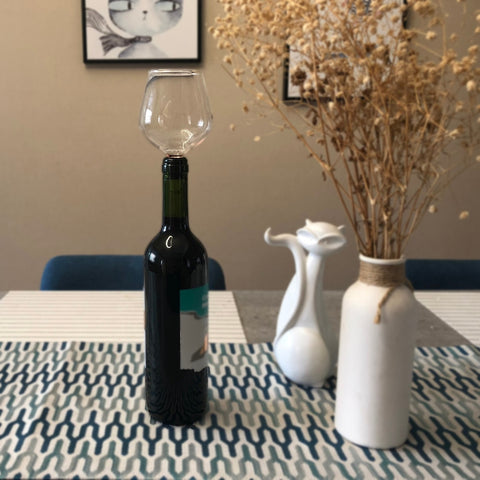 Image of Wine Bottle Glass