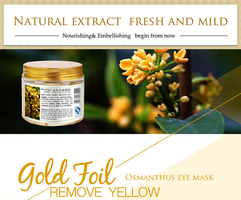 Image of Gold Osmanthus Collagen Eye Mask