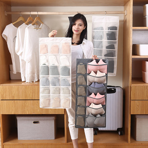 Double-Sided Bra Storage Wall