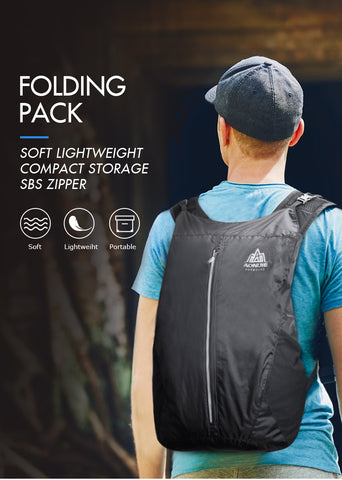 Image of Ultra Lightweight Travel Bag Pack