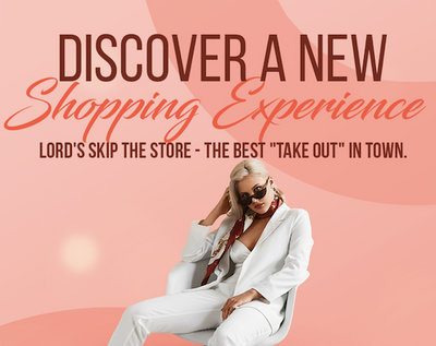 Discover a NEW shopping Experience - Lord's SKIP THE STORE!
