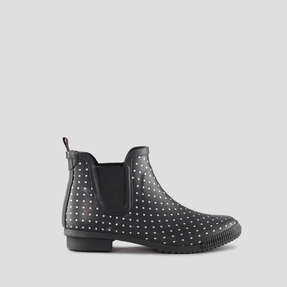Regent-Black Polkadot -WATERPROOF