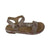 B-7410-F-Pink Leather Camo Sandal