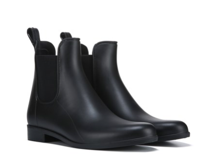Celeste Black Matte WATERPROOF Chelsea Boot