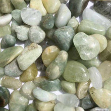 Load image into Gallery viewer, Aquamarine Tumbled Stone, Small & Large
